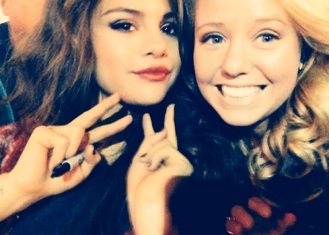 Selena Gomez With her friend Emme